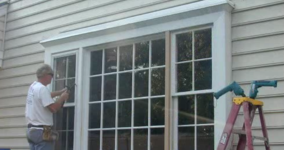 Home improvement gallery by bnw builders richmond va for Bay window installation