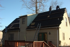 Roof installation in Progress