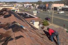 New Roof overlooking Broad Street in Richmond, Virginia