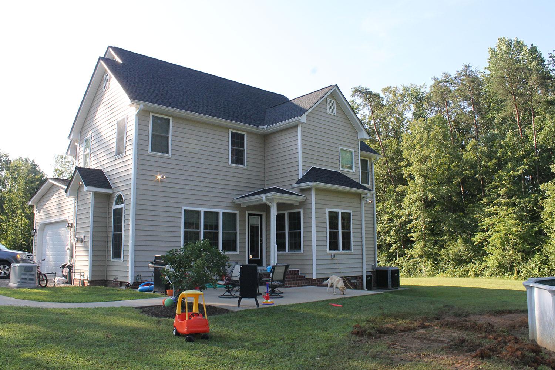 backyard home improvement before